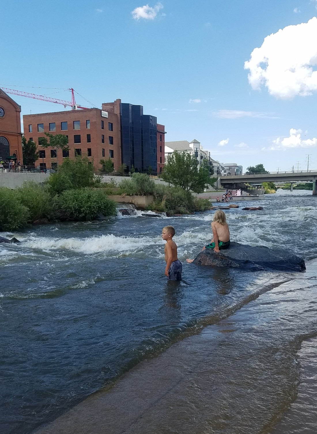 Confluence Park in Denver, Colorado