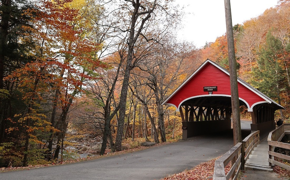 Covered Bridge in New Hampshire