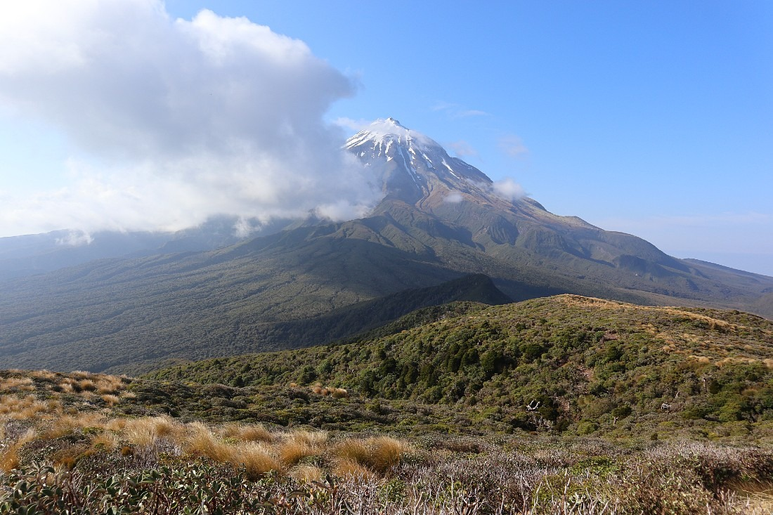 Mount Taranaki from the Pouakai Circuit