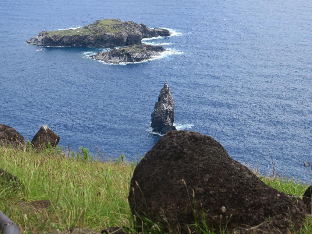 Islet of Moto Nui Easter Island, Rapa Nui, Hanga Roa, Isla de Pascua, Chile, South America