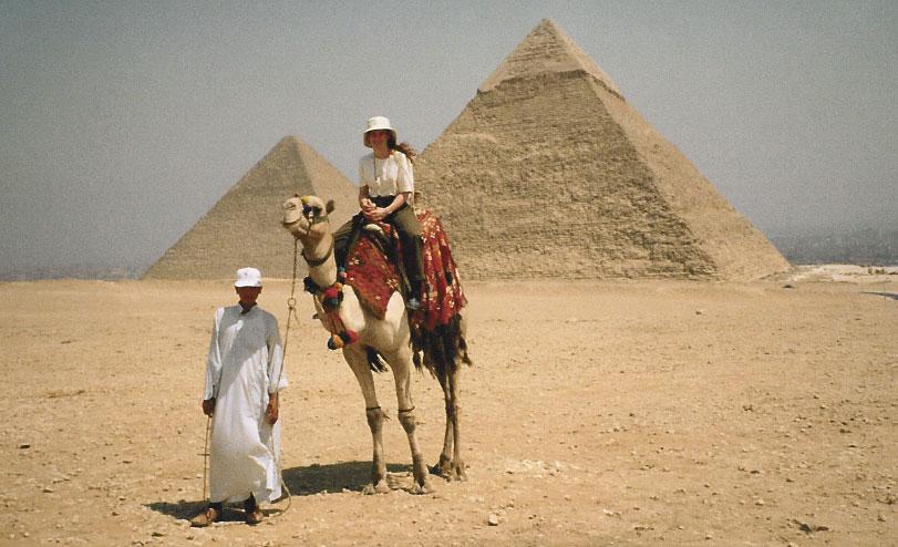 Egypt's Great Pyramids of Giza Camel Ride