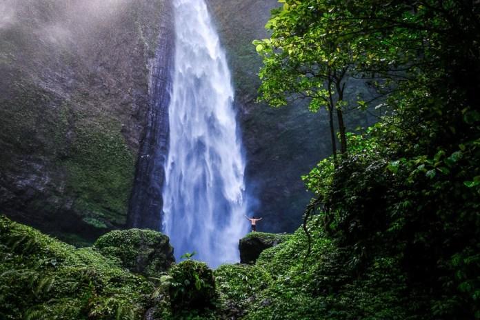 Kabut Pelangi Waterfall In East Java Indonesia The World Travel Guy