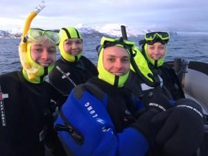 snorkelling orcas, wildside, world wild web