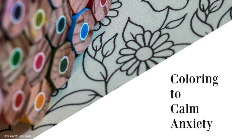 Coloring to Calm Anxiety