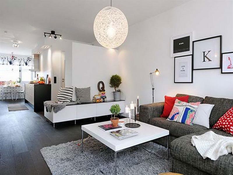 Interior Design Cozy Apartment Living Room Decor Novocom Top