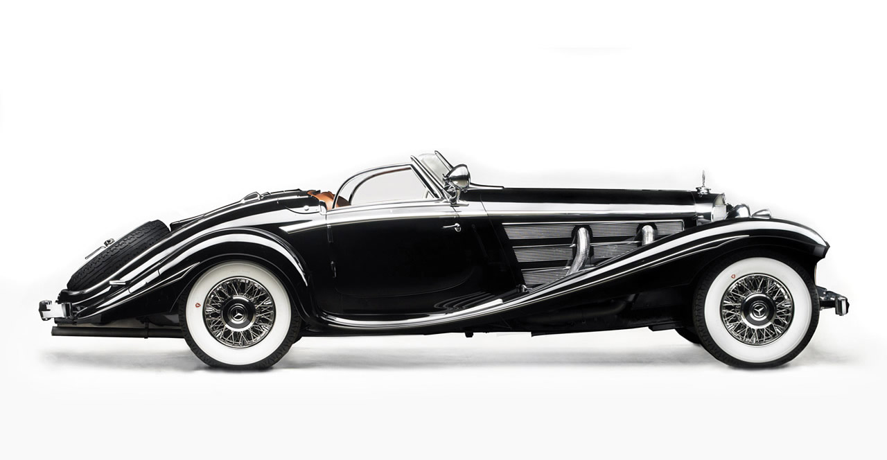 01. 1936 Mercedes-Benz 540K