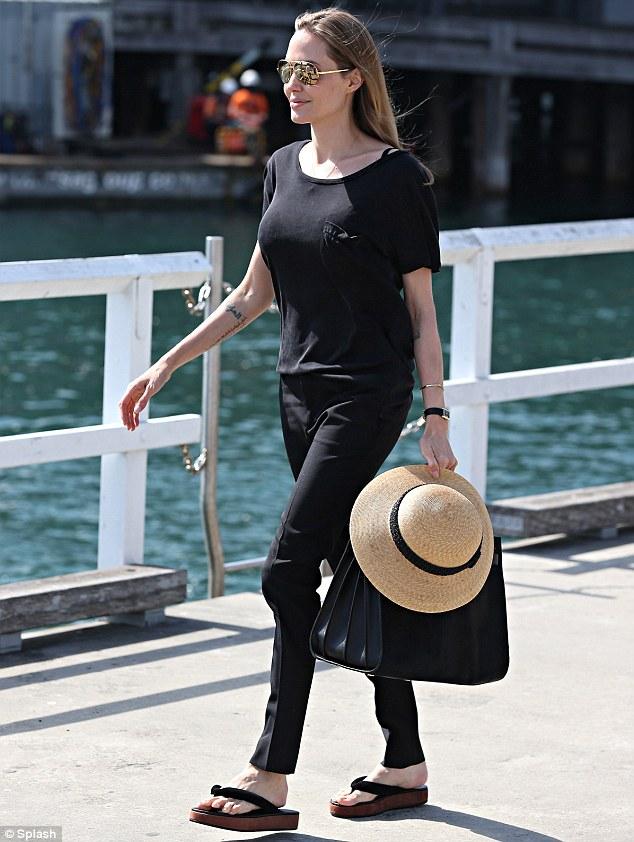 Angelina Jolie Street Style fashion