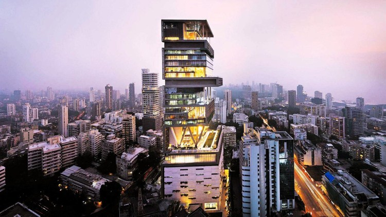 1.Antilia, Mumbai, India