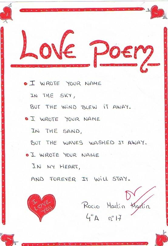 30 Romantic Poems About Love