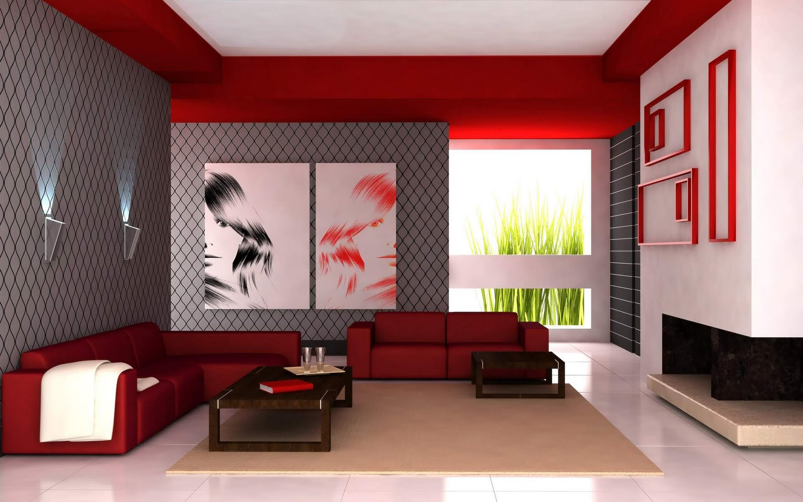 Simple Modern House Interior Designs