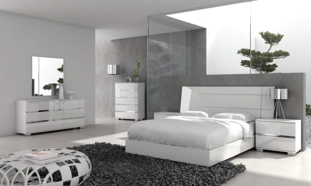 Bedroom Sets - Taking Modern Art to Bed - The WoW Style