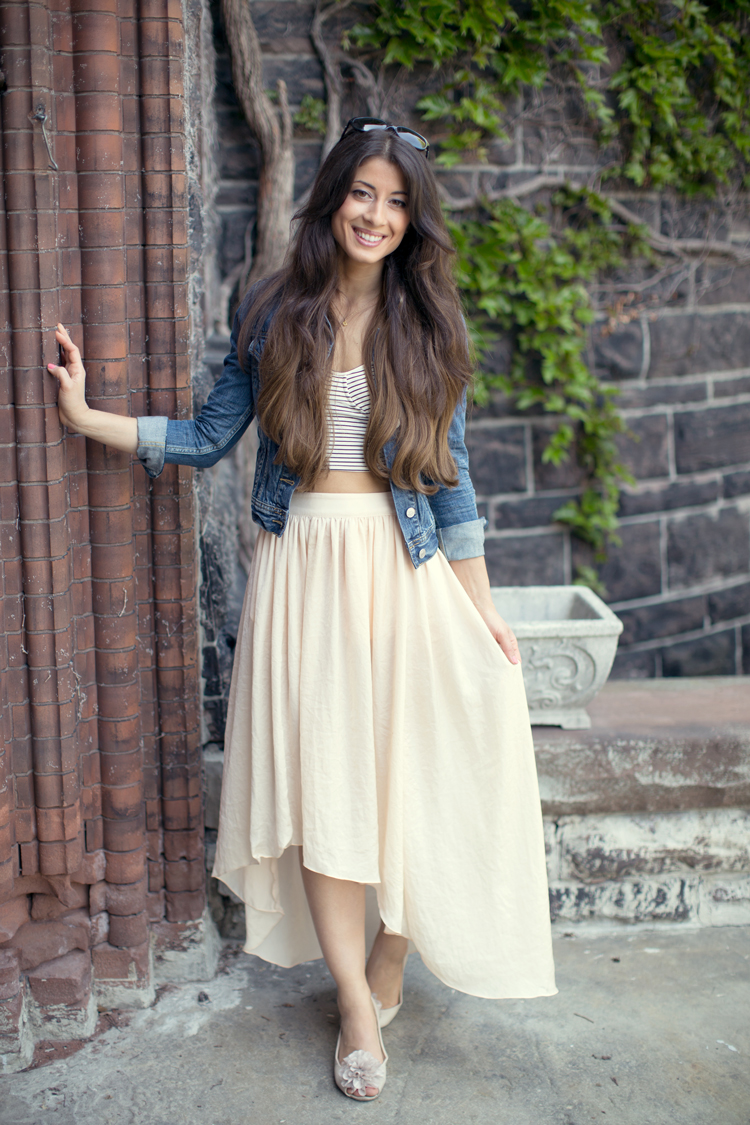 Fabulous Crop Tops And Skirts Outfits For Summer
