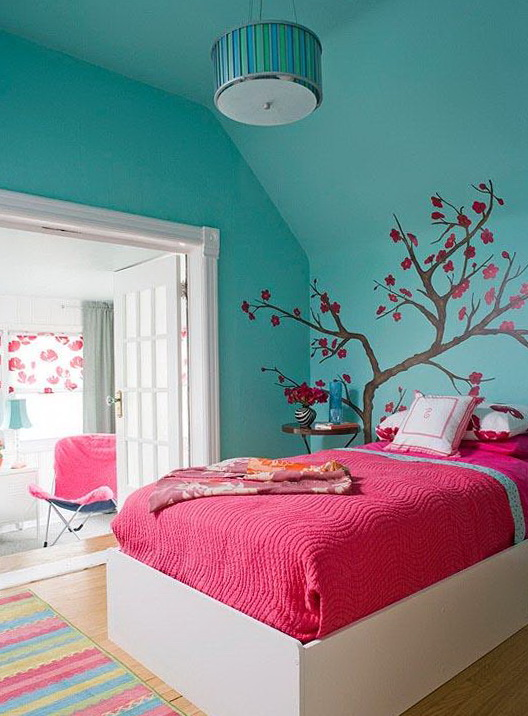 Wtsenates Enchanting Turquoise Teen Bedroom Ideas In Collection 4645