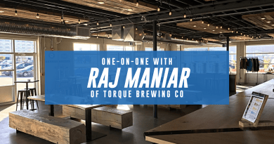 Raj Maniar from Torque Brewing Co. [Video]