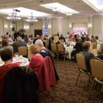 Caring Hearts Panel Discussion and Dinner Group Photo