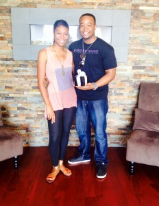 Jasmine Coleman-Ford and Terrence Ford