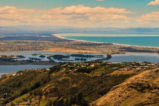 A landscape photo of Christchurch, New Zealand taken from the Port Hills which overlook the city. The Write Analyst is located in Christchurch, on the South Island of New Zealand.