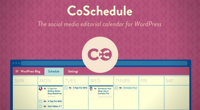 COPYWRITING MASTERCLASS: HOW AND WHY YOU SHOULD USE COSCHEDULE