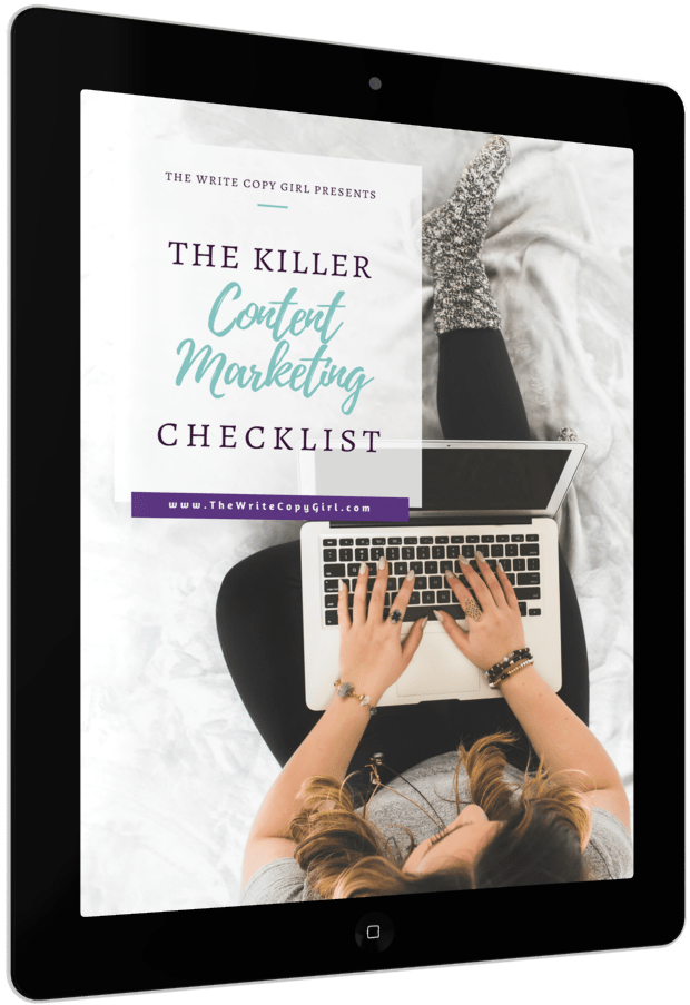 Killer Content Marketing Checklist - Everything You Need To Do To Make The Most Of Your Content