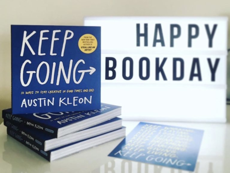 Keep Going by Austin Kleon
