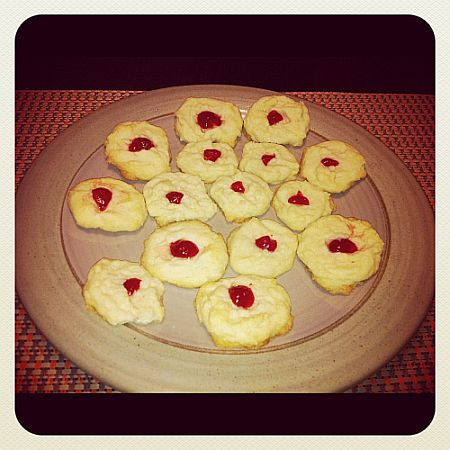 My Favourite Christmas Cookies: Whipped Shortbread