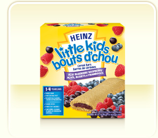Review: Heinz Little Kids Cereal Bars