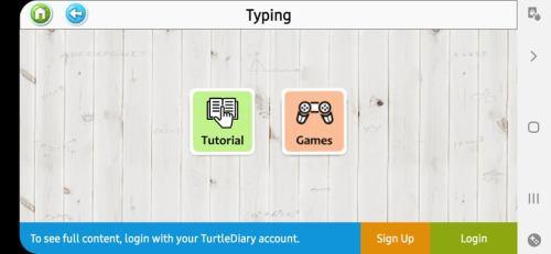 تعلم وممارسة Typing