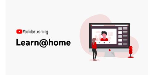 منصة Learn At Home لتعليم الأطفال عبر اليوتيوب