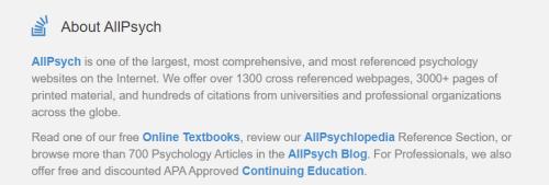 موقع AllPsych