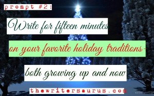 Christmas Writing Prompt