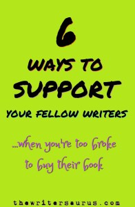 How to support authors without buying their book