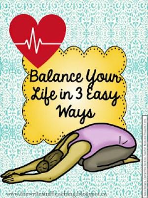Work life balance for teachers
