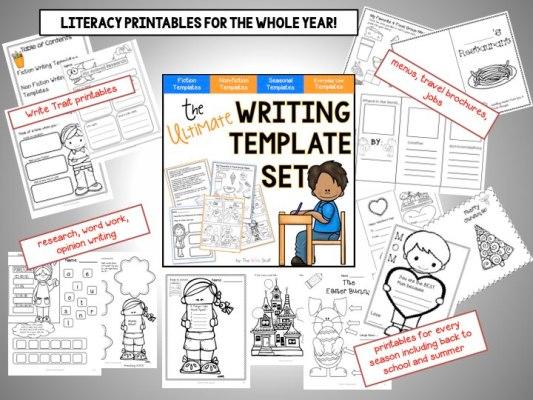 Writing Template Set