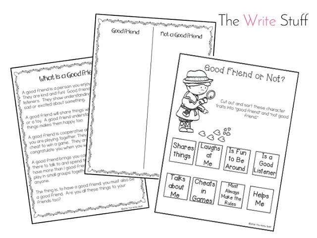 How to Find a Friend and BE a Friend - The Write Stuff Teaching