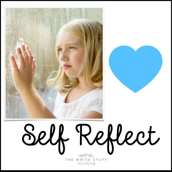 Children who self reflect have more self awareness and are happier kids.