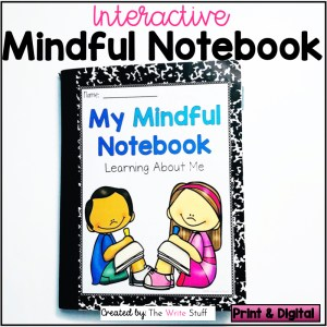 Interactive Mindful Notebook Paper Edition