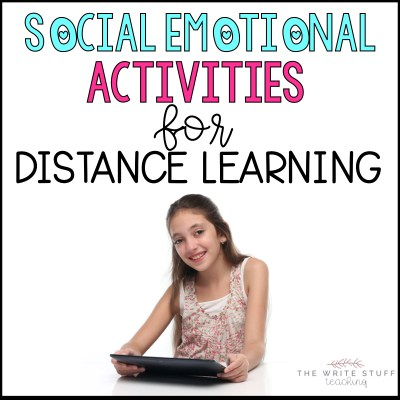 social emotional activities fo distance learning