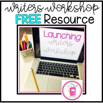 free writers workshop resource