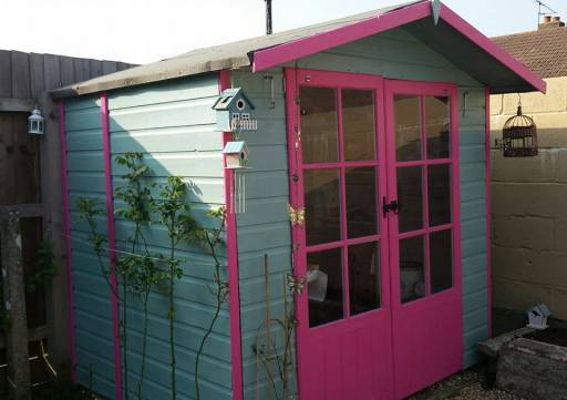 new writing shed - april 2015