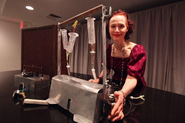 Suicide machine created by Jack Kevorkian