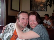 Ken and my bestie Kathy, 2005