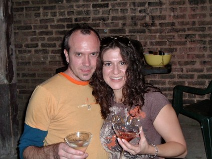 Ken and my good friend Retta. 2006