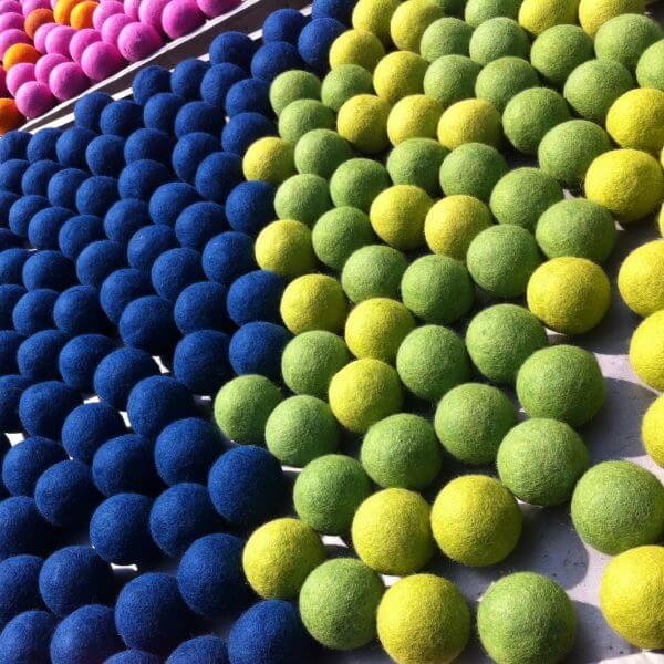 felt balls in bulk