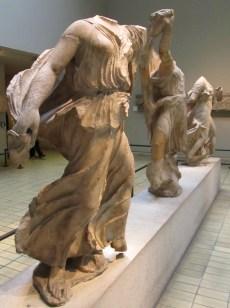 Greek sculpture near the Nereid Monument