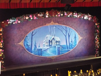 Stage of the Nutcracker at the Royal Winnipeg Ballet