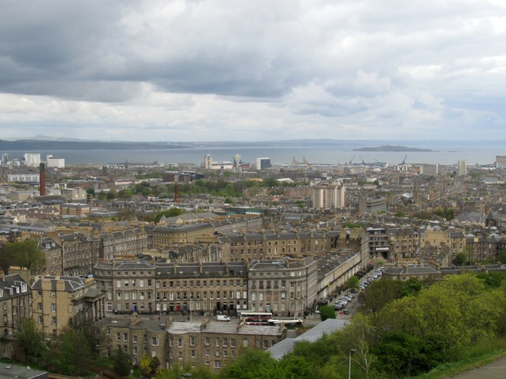 edinburgh destination city view