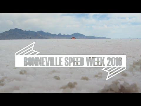 Bonneville Speed Week 2016 Travel Video