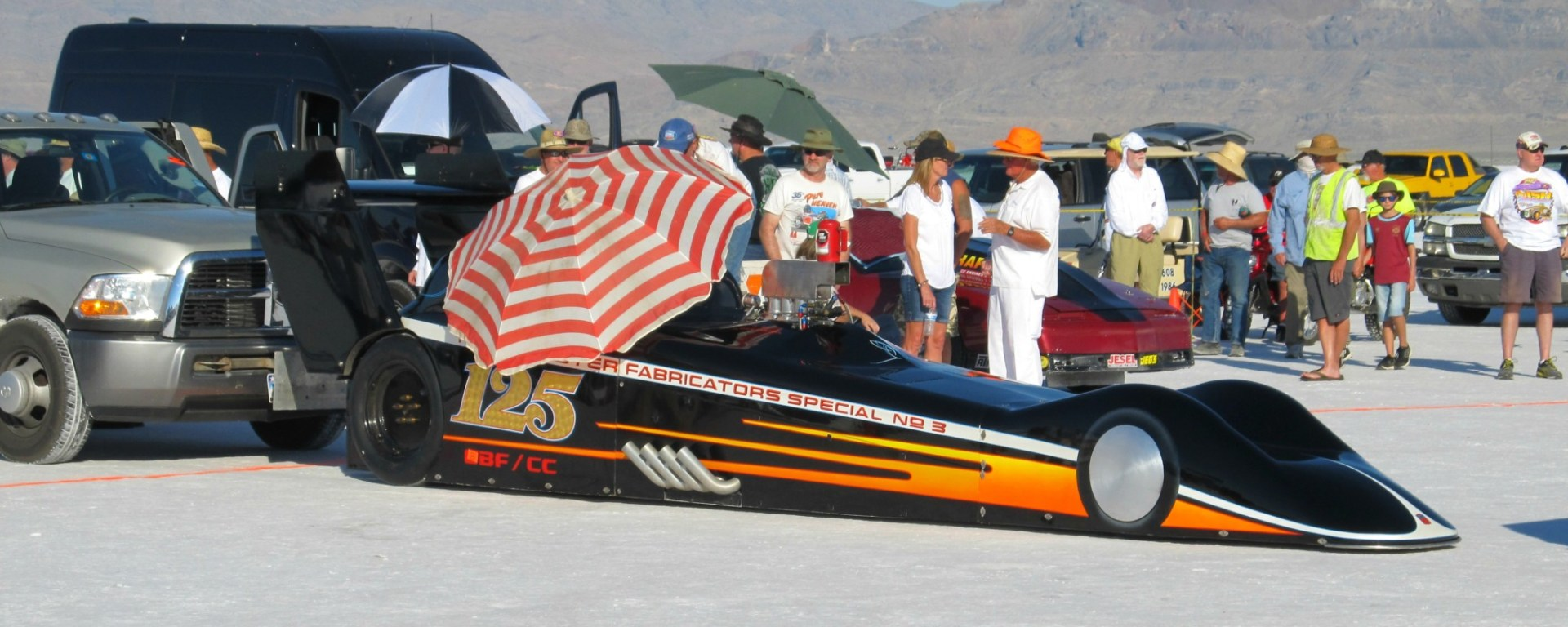 Bonneville Speed Week 2016