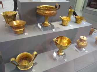 Mycenean gold