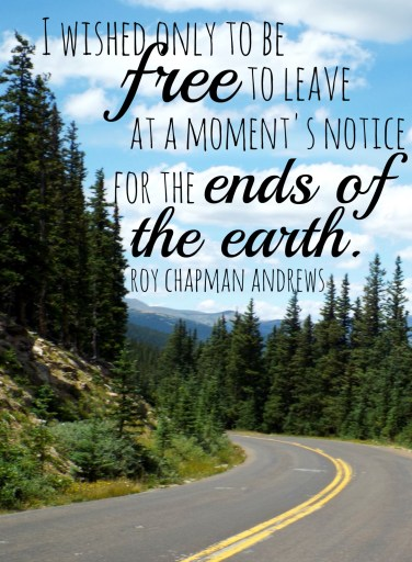 Roy Chapman Andrews quote